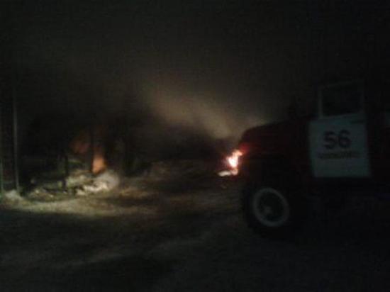Пять автомобилей сгорело в Кимовске Тульской области