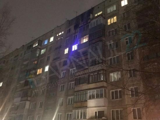Квартира сгорела в Барнауле на Сулиме, погиб мужчина