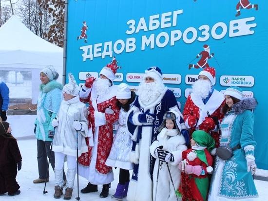 32 тысячи жителей Удмуртии приняли участие в новогодних мероприятиях