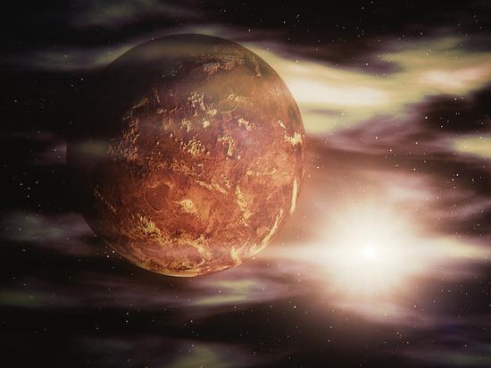 В атмосфере Венеры японские учёные обнаружили необычные кольца облаков