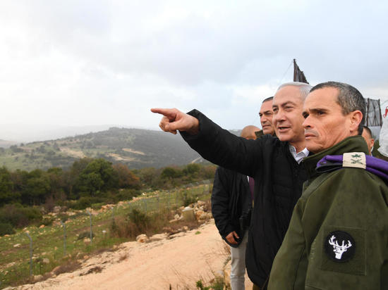 Премьер-министр Биньямин Нетаниягу посетил район проведения операции