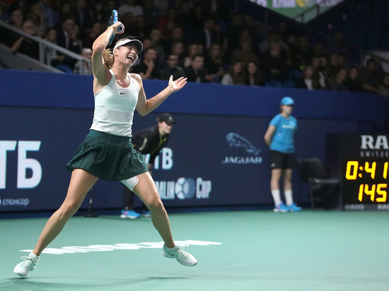 Шарапова вышла во второй круг Australian Open