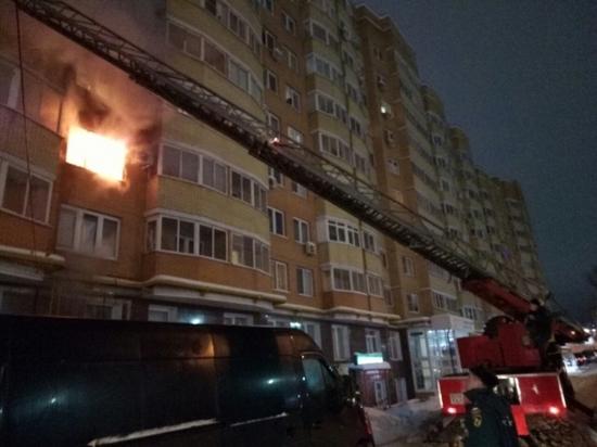 В пожаре на проспекте Ленина в Туле пострадали 4 человека
