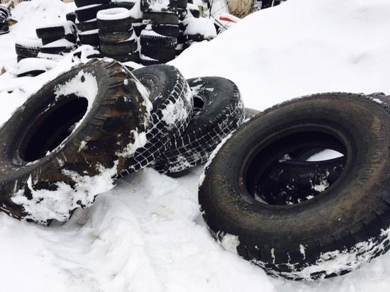 Предприниматель из Рыбинска начал перерабатывать старые шины.
