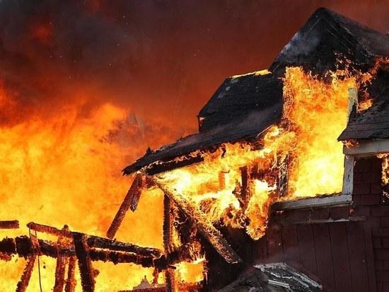 В Тамбовской области при пожаре погибла супружеская пара