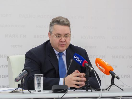Губернатор Ставрополья рассказал о зарплатах, дорогах, курортах