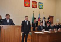 В Апшеронском районе состоялась инаугурация нового главы муниципалитета