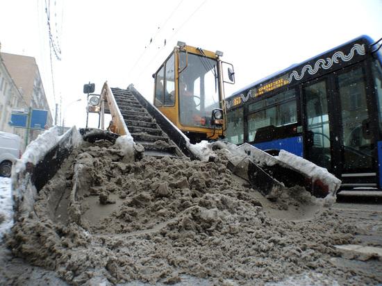 Пензенских чиновников вместо заседания отправили убирать снег
