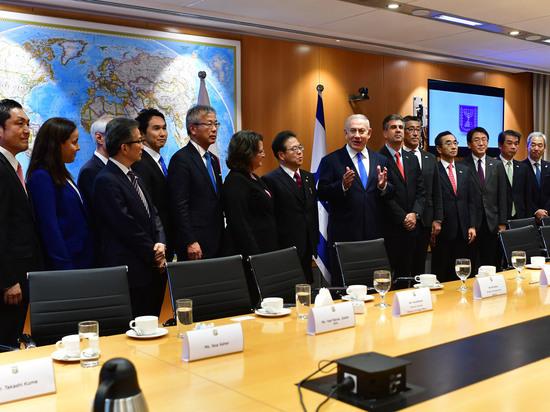 В Иерусалиме прошла встреча с министром экономики, промышленности и торговли Японии