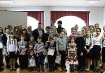 Вышневолоцких детей наградили за творческие подарки к Рождеству