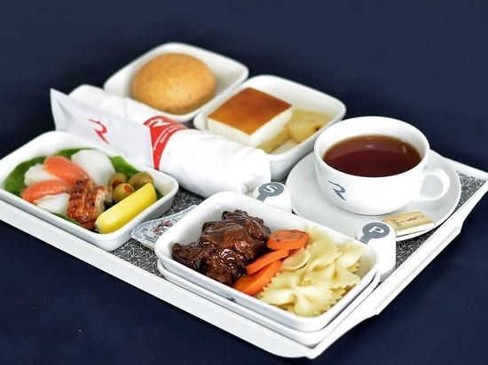 «Россия» на дальневосточных рейсах предлагает новые блюда