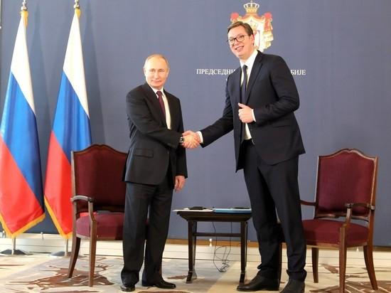 Путин: Россия потратит $1,4 млрд на сербскую нитку «Турецкого потока»