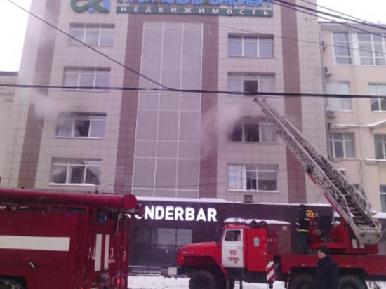 Стали известны причины пожара в пермском бизнес-центре
