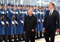 Количество приветствовавших Путина в Белграде сильно преувеличили