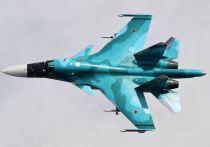 Два истребителя-бомбардировщика Су-34 столкнулись в небе во время полётов на Дальнем Востоке, сообщил осведомлённый источник в силовых структурах дальнеовточного региона