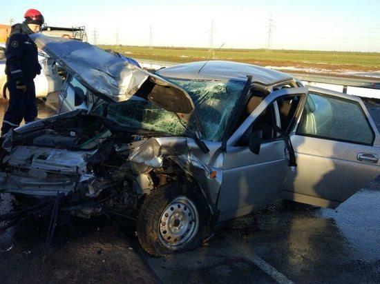 Встреча на скорости: в аварии под Феодосией пострадали шестеро