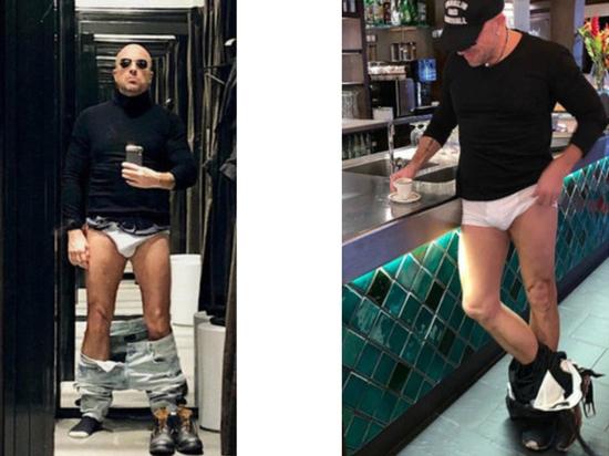 Нагиев удалил фото без штанов после критики сына