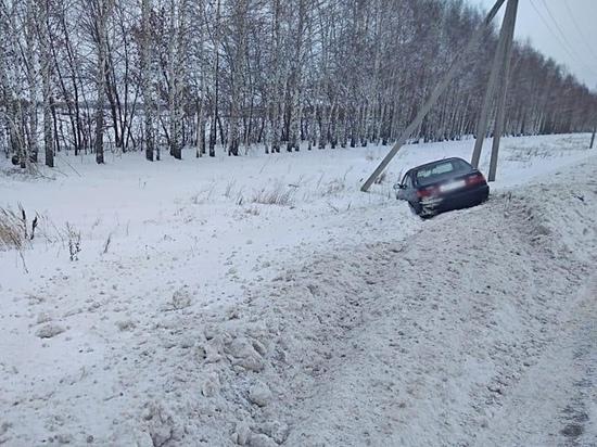 """Под Тамбовом водитель """"Тойоты"""" скончался на месте ДТП"""