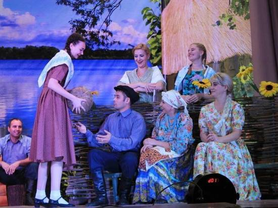 Самодеятельный театр из калмыцкого села Яшалта покажет спектакль