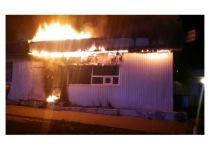 В соседнем Протвино сгорела торговая палатка