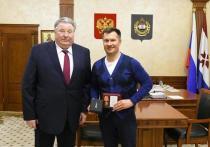Алексею Немову дали медаль в Мордовии