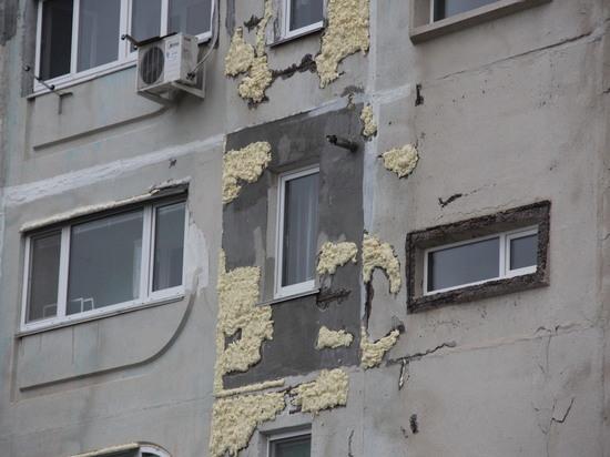 В Балаклаве при капремонте решили использовать пену вместо бетона