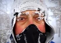 Итальянский полицейский пробежал 40 км в Якутии в минус 52 градуса