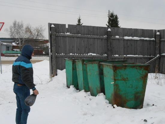 Жители села под Невьянском провели свою «мусорную реформу»