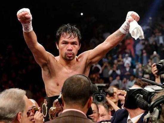 Дом боксера Пакьяо ограбили во время его поединка