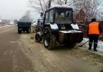 В Тамбове на расчистку дорог после снегопада вышло 89 единиц техники