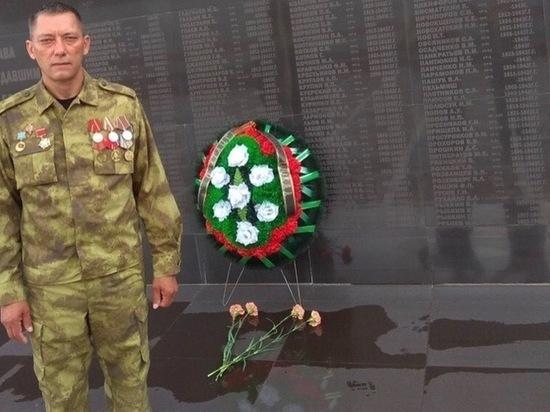 Уроженец Башкортостана нашел имя своего деда на мемориальной плите в Элисте