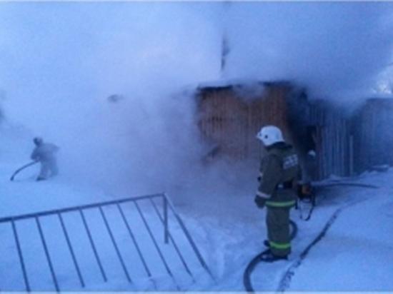 В посёлке Тверской области загорелась котельная