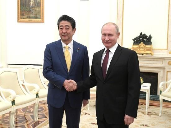 Путин поставил на последнее место тему мирного договора с Японией