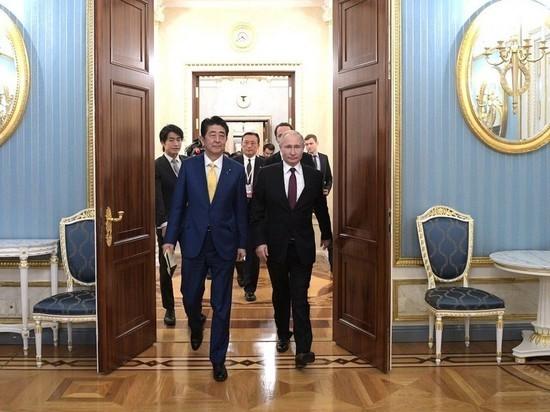 Путин назвал Абэ условия мирного договора с Японией