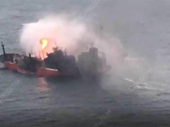 Эксперты назвали причину взрыва танкера в Черном море