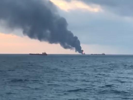 Пожар на танкерах возле Крыма связали с США