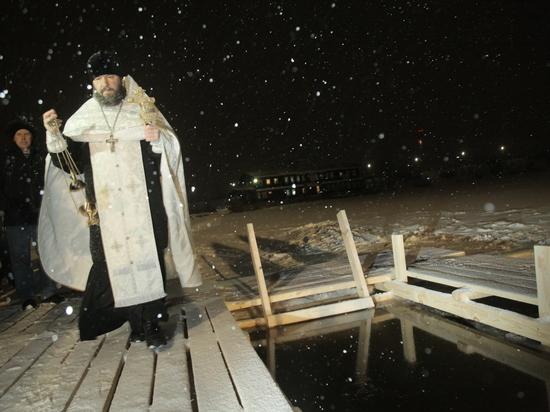 Крещение отметили в Нижегородской области