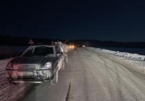 В Орловской области иномарка сбила пешехода