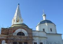 Продолжаются работы по реставрации одной из уникальнейших святынь Серпухова – Троицкого собора