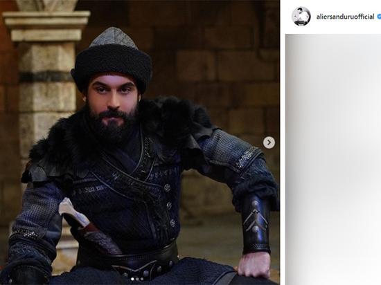 Сыгравший султана турецкий актер Али Эрсан Дуру посетил Москву