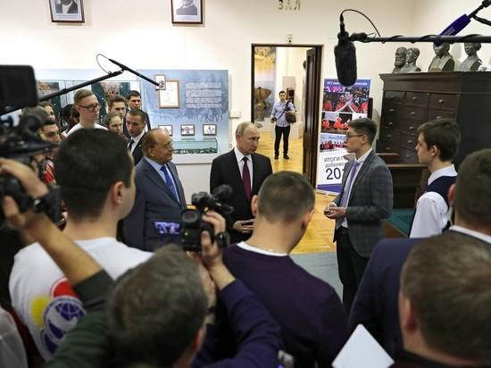 Путин: Москва сняла вопросы по строительству технологической долины МГУ