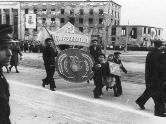 Конец сороковых и пятидесятые годы для Калининграда были определяющими.