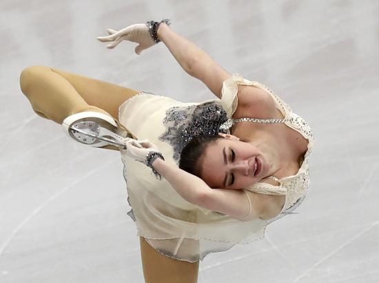 Загитова упрекнула себя после короткой программы на ЧЕ: могла лучше