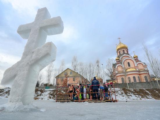Казахстанцы отметили Крещение Господне