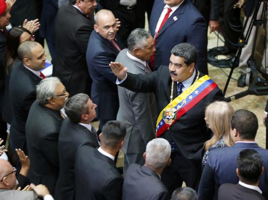 Мадуро: после попытки госпереворота Венесуэла разрывает дипотношения с США
