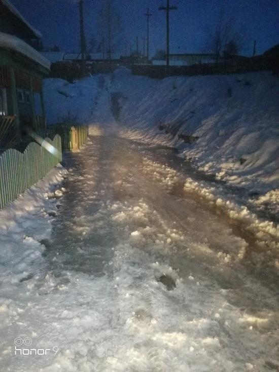 Двое суток без воды и тепла живет микрорайон Усть-Кута
