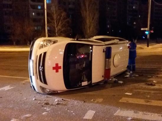 В Крыму перевернулся автомобиль «скорой», который не пропустили
