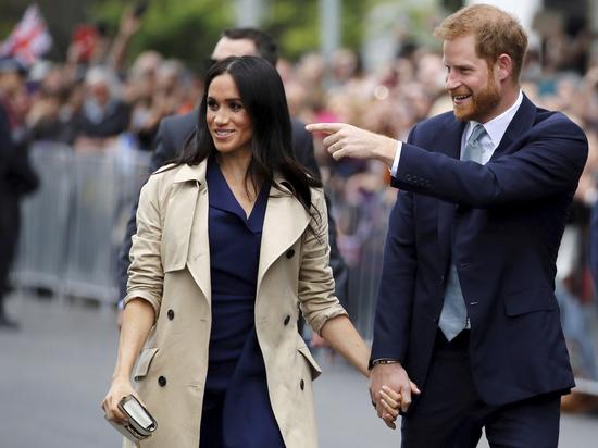 Неонацистские тучи сгущаются над головой принца Гарри и его супруги