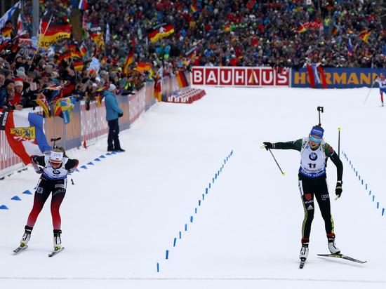 Российские биатлонистки не завоевали медалей в спринте на Кубке мира