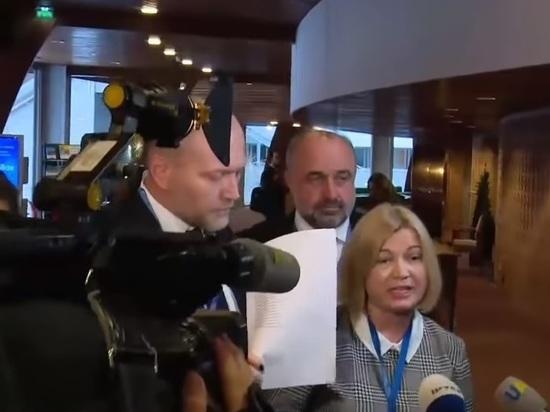 Украинский политик толкнул и оскорбил российскую журналистку в ПАСЕ